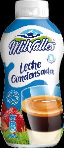 Crepes con leche condensada