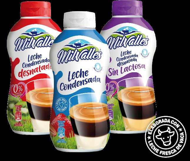 leche condensada milvalles