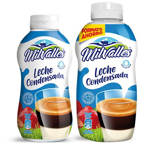 leche condensada entera sirvefacil 450 g y 625 g