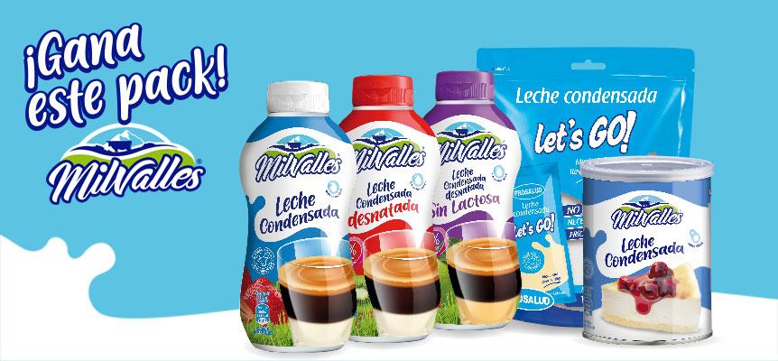 Sorteo Milvalles leche condensada