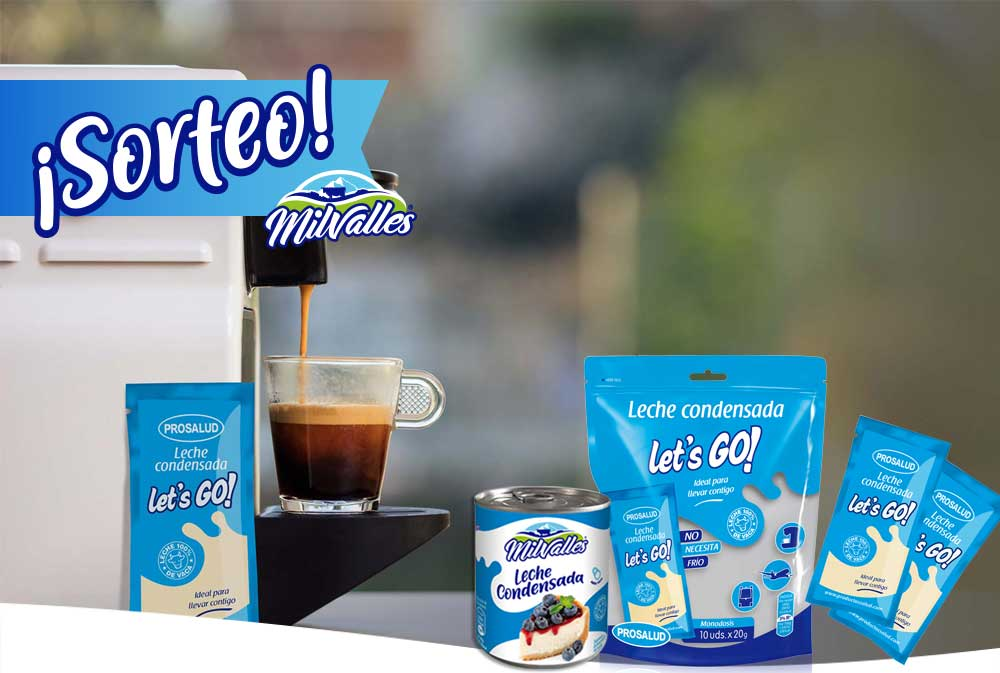sorteo mayo leche condensada
