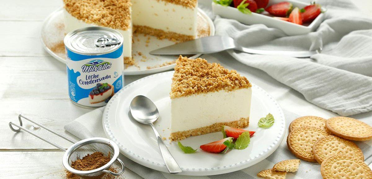 receta facil de tarta comadre ecija leche condensada